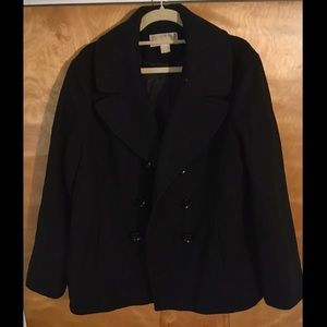 Michael Kors Men's Wool Pea Coat (size XL)